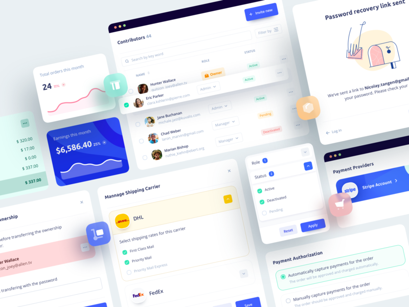 UGEM - Marketplace Components