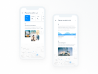 Storyboard for Mobile Travel App
