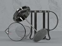 Smeg French Press render illustration visual design art direction creative direction cinema4d 3d product design