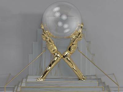 X render photoshop visual design digital art creative direction art direction 3d cinema4d