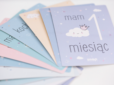 Snap The Moment: Photo Cards pastel cute photo card photography minimal mom baby product baby kids children