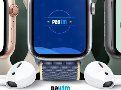 Paytm Redesign, Concept for Apple Watch apple watch payment paytm