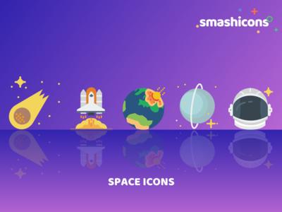 Smashicons - Space Icon Set