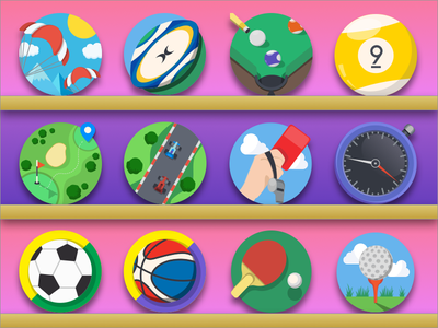 Mintie Sports Icon Set soccer illustrator iconfinder icon sets icons sports