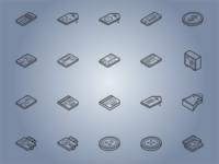 Isometric Ecommerce Icons