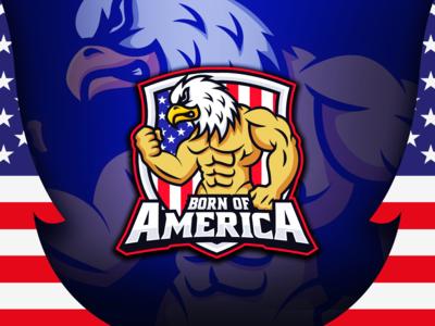 Born of America Esports Logo