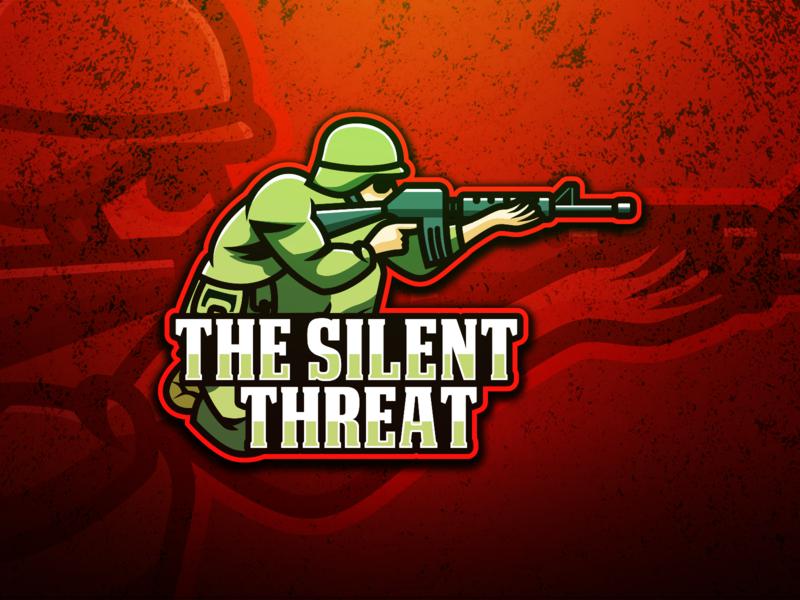 The Silent Threat Esports Logo