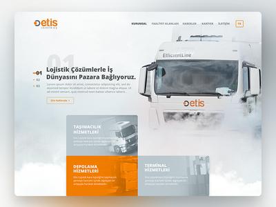 Etis Logistic Ui Design