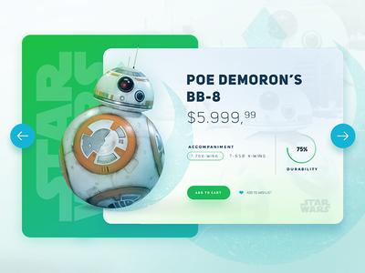 Star Wars /  BB-8 UI