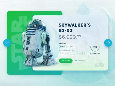 Star Wars /  R2-D2 UI