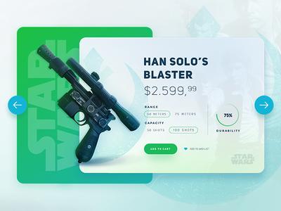 Star Wars /  Han Solo's Blaster UI