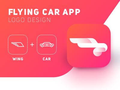 Flying Car App / Logo Design