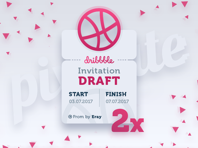 2x Dribbble Invites / We Are Hiring!