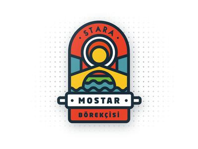 Mostar Bridge Restaurant / Logo Design