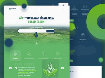 Arsamolsun.com / Web UI Design