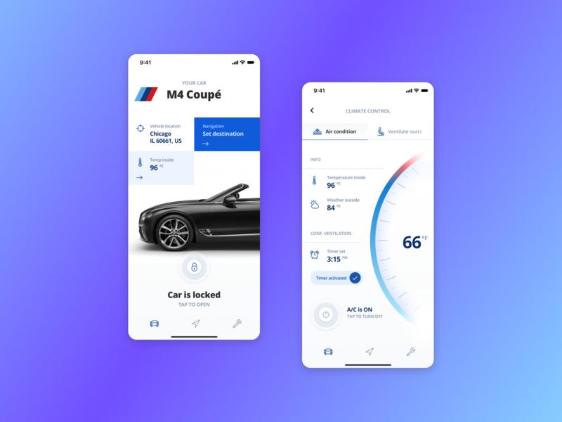 R+R : Car Inspection phone ux ui design product mobile app