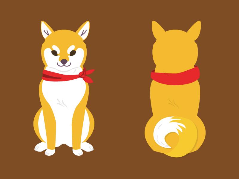 A shoob puperino subwoofer woofer doggo shoob dog inu shiba
