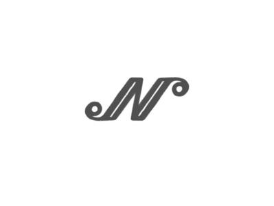 Letter N by @anhdodes minimal simple illustration lettermark design typography logo design logo inspiration branding