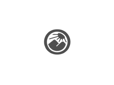 Sunset and mountains logomark by @anhdodes lettermark illustration design typography logo design logo inspiration branding landscape logo sunrise logo sunset logo mountain logo