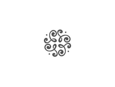Abstract flower by @anhdodes lettermark minimal illustration design typography logo design logo inspiration branding florist flower logo abstract logo