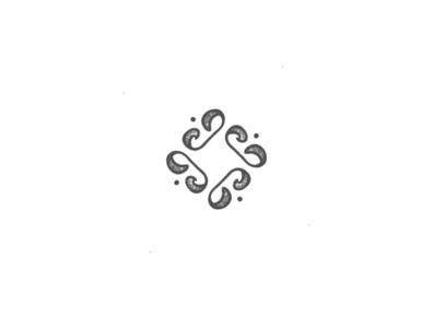 Abstract Beans minimal simple lettermark illustration design logo design inspiration branding logo beanbag beans bean