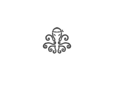 Octopus by @anhdodes lettermark illustration typography design logo logo design inspiration branding animal logo japanese food sushi logo octopus logo