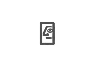 Face by @anhdodes simple minimal illustration typography design logo design logo inspiration branding face logo face