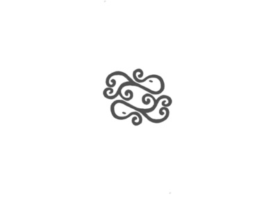 Double Octopus simple lettermark illustration inspiration branding design brand identity brand design branding brand logodesign logotype logo logo design octopus logo octopus