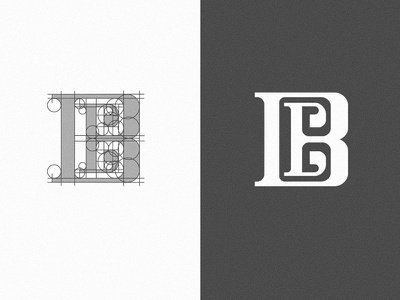The construction of letter B logo mark design brand identity branding logo mark logo designer logo designs logo design logodesign brand identity design logo simple logo design branding design minimal logo design minimal logo minimal logos minimalist logo design minimalist logo monogram monogram logo monogram letter mark monogram design