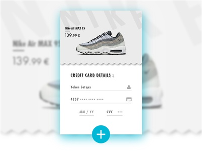 Daily UI #002 - Credit Card