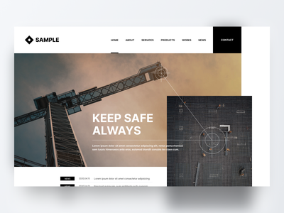 Crane Camera Maker Website Concept minimal web design website design