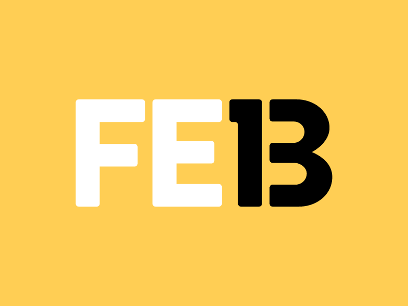February 13 datetypography number typography february feb thirteen 13