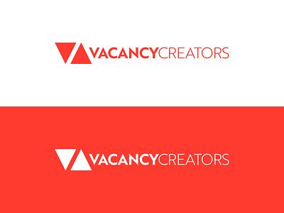 VacancyCreators Logo Concept 2 design creator creators vacancy triangle concept logo
