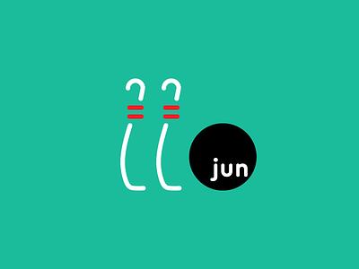 June 22 bowling typography twenttwo twentysecond number june jun datetypography date 22nd 22
