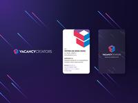 VacancyCreators Logo & Business Card