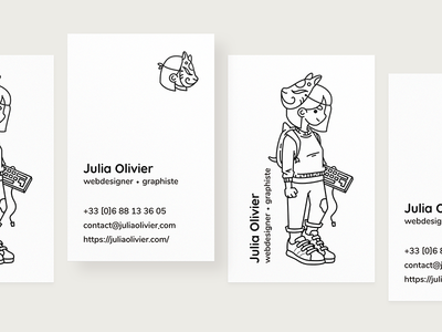 New business card! ✌️