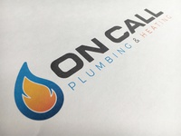 Finished plumbers logo