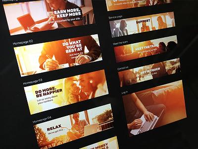 Web banners website design web design digital design graphic design
