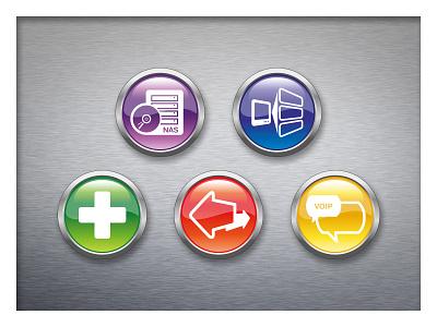 IT icons illustration icon design visual identity branding