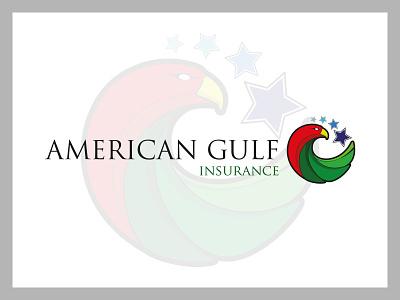 American Gulf Insurance Logo icon design icon graphic design illustration visual identity brand design branding design branding logo design logo