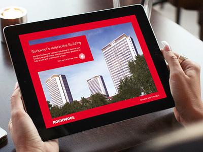 Rockwool app illustration app design digital design