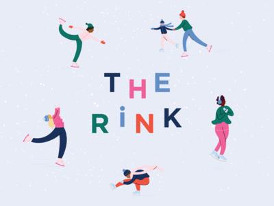 The Rink Branding