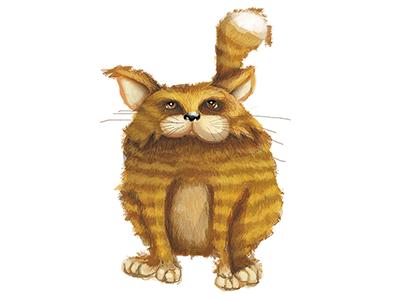 Miau miau gato cat illustrator photoshop digital