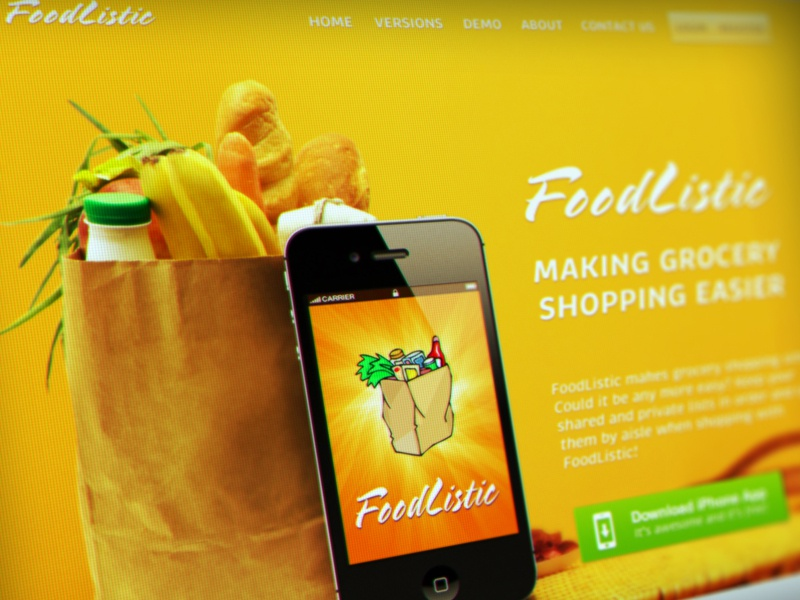 Landingpage website design ui ux landing page app page