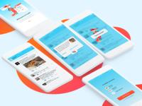 Design for FoxRT' app