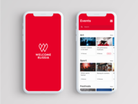 Concept for the Travel App