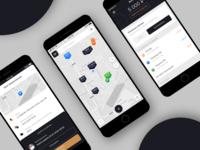 Concept for parking app