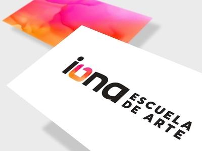 iONA School of Art // Branding