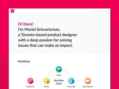 Design Portfolio  digital toronto interaction visual ui ux productdesign design website