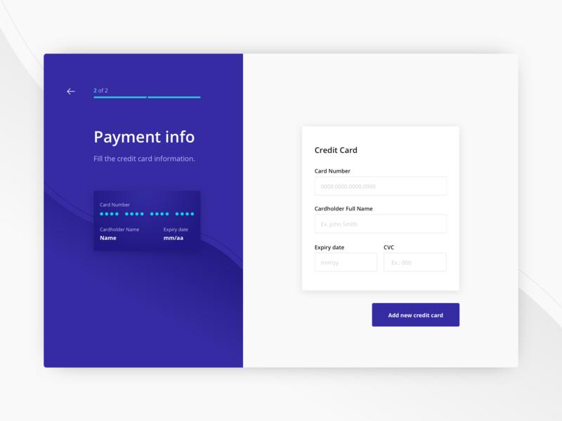 Bills App - Desktop Version form desktop payment bill web interface ui